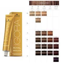 <b>Schwarzkopf</b> Professional <b>IGORA</b> Royal Absolutes Color Chart ...