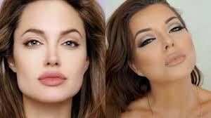cat eye angelina jolie makeup tutorial