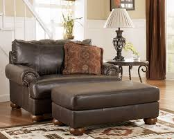 Rustic Living Room Chairs Truffle Color Rustic Living Room With Nailhead Deatils By Ashley 85601