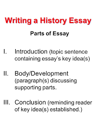 writing a history essay ppt video online  writing a history essay