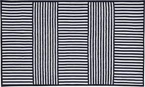 navy stripe outdoor rug 5x8 patio rugs