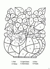 New Flower Coloring Book Pages Coloring