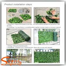 plastic grass artificial green plant wall decor mix diffe