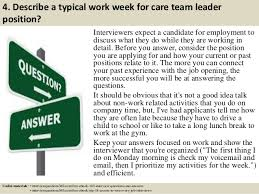 interview questions team leader top 10 care team leader interview questions and answers