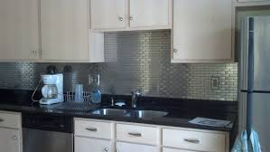 Stainless Steel Backsplash Kitchen Stainless Steel Backsplash Sheets Classic Chandelier Remodeled By
