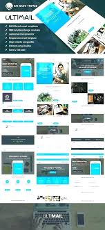 Free Email Template Generator And Templates Blog Design In