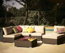 decorating with wicker furniture. outdoor seating furniture set decorating with wicker