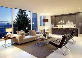 living room and kitchen in one the range of common colors