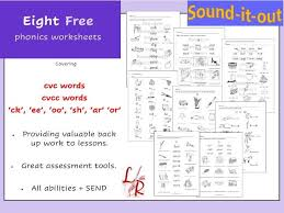 Check out our collection of printable phonics worksheets for kids. 8 Phonics Worksheets Free Teaching Resources