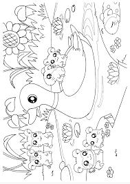 Hamtaro Kleurplaat Tv Series Kleurplaat Animaatjesnl