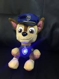 Paw Patrol Deluxe Lights And Sounds Plush Real Talking Rubble Paw Patrol Stuffed Animals Teddy Bears Upc Barcode