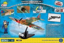 """<b>Пластиковый конструктор COBI</b> """"Самолет Hawker Hurricane Mk I ..."""