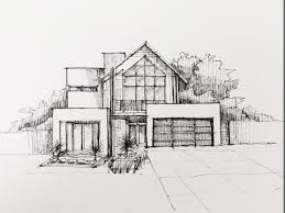 architectural building sketches. Perfect Sketches Architectural Houses Buildings Sketches  Sketching 01 On Building H