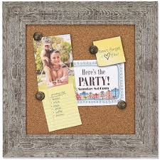 Weathered Gray Barnwood Framed Corkboard by Lawrence - Picture Frames,  Photo Albums, Personalized and Engraved Digital Photo Gifts - SendAFrame