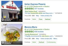 restaurant review examples mining text for review snippets tripadvisor engineering