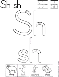 Sh Digraph Worksheet and Mini-Book available in two font formats ...
