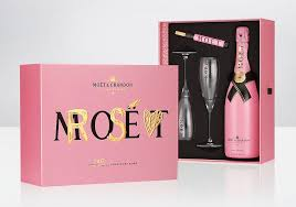 moet chandon valentine day gift set