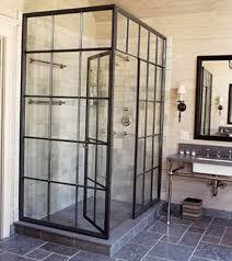 black steel framed shower doors fanciful breathtaking frame enclosure home ideas 11