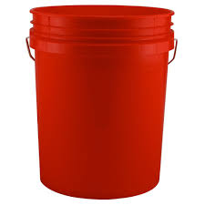 20 gallon bucket. Red Bucket (Pack Of 3) 20 Gallon H