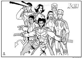 Small Picture X men coloring pages free printable 18