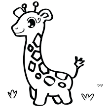 Easy Animal Coloring Pages Animal Coloring Pages For Toddlers Easy