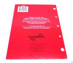Tecumseh 695244a Tecumseh 4 Cycle Overhead Valve Repair Manual Genuine Original Equipment Manufacturer Oem Part