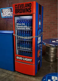 Bud Light Vending Machine Custom If Bud Light Had Any Sense Of Showmanship The Victory Fridges Would