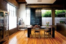 Minimalist and Functional Dining Room Interior Design of A Perfect Weld by  Larissa Sand, San