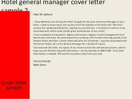 Collection Of Solutions Hotel General Manager Cover Letter 3 638 Cb