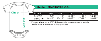Gerber Onesie Size Chart Personalized Gerber Onesies Opu Squiggly Boo Baby Clothes