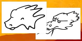 template of a dragon dragon head template dragon head template dragon animal