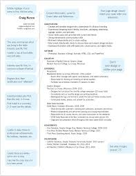 Creative Resume Sample Designer Resume Template Freshhic Templates Of Design Samples 23