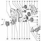 Устройство двигателя пассат