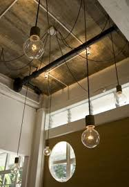 industrial lighting design. high ceilings and swag go well together cool lightingindustrial lightinglighting designlighting industrial lighting design i