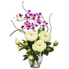 Silk Arrangements For Home Decor Home Decor Artificial Flower Arrangements Flowers Ideas