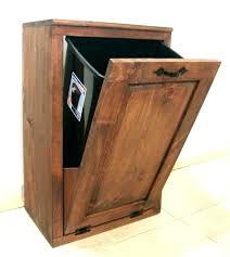 trash bin storage shed plans garbage box can holder cabinet indoor bins garb outdoor outside collection