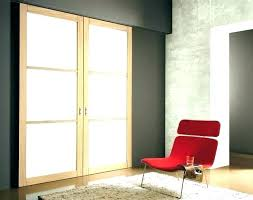 internal door with frosted glass panels doors modern interior double 3 white