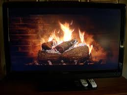 chrome team rolls out virtual fireplace that you can cast to your tv with chromecast fireplace screensaver video t18 video