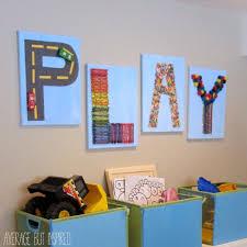 diy toddler room wall art