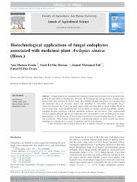 Biotechnological applications of fungal endophytes associated with.