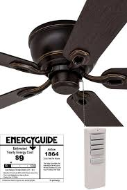 how many watts does a ceiling fan use per hour maribo
