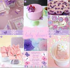 Lavender Baby Shower Decorations A Pink And Lilac Baby Shower With Butterflies And Flowers