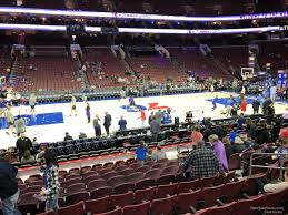 Wells Fargo Center Section 124 Philadelphia 76ers