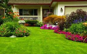 Simple landscaping ideas home Backyard Landscaping Home Landscaping Ideas Homecrux Simple Landscaping Ideas To Bring Huge Gains To Property Value