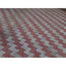 gautam hardware offering red and grey concrete interlocking floor tile 14mm at rs 16 piece in lucknow uttar pradesh get best and read