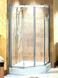glass corner showers shower doors frameless