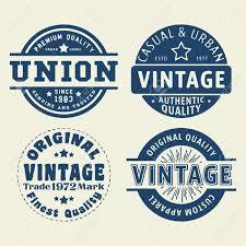 Label Print Design T Shirt Print Design Vintage Labels And Stamps Set Printing
