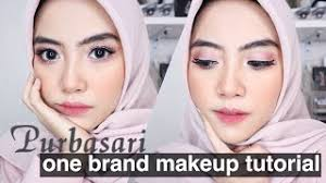 purbasari one brand makeup tutorial shafira eden
