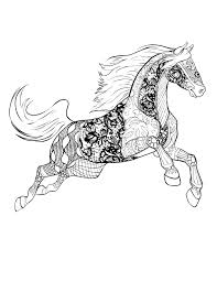 Kleurplaat Horsesnl Paard Kleurplaat Spring Within Paarden