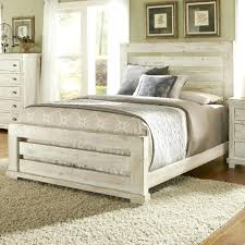 Distressed Wood Bed Frame Frames Reclaimed Diy – continuously